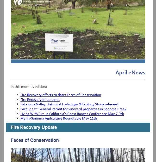 April eNewsletter
